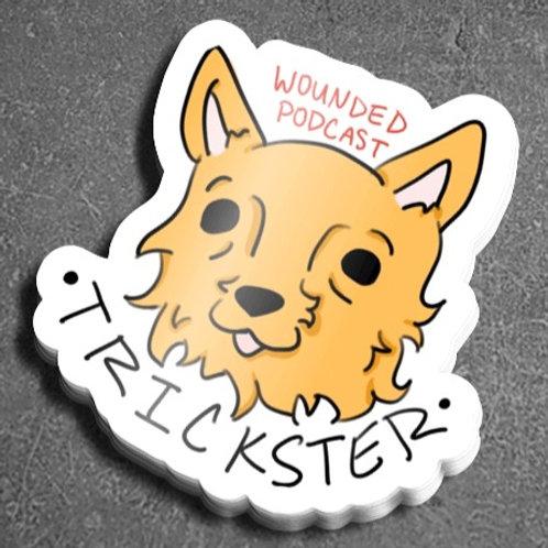 Trickster Coyote Sticker