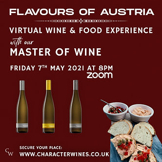 FLAVOURS OF AUSTRIA - WINE & FOOD EXPERIENCE