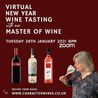 Virtual New Year Wine Tasting with our Master of Wine
