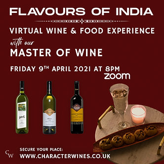 FLAVOURS OF INDIA - WINE & FOOD EXPERIENCE