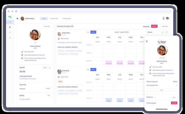 daycare parent portal software