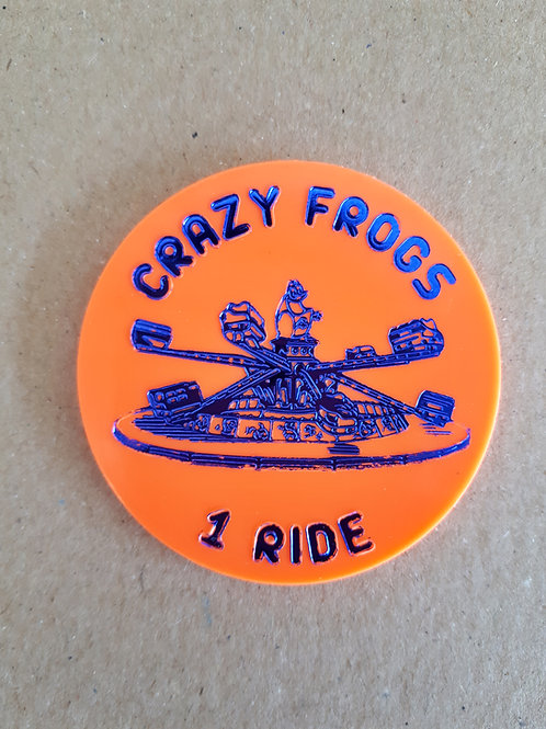 Crazy Frog 1 Ride Tokens