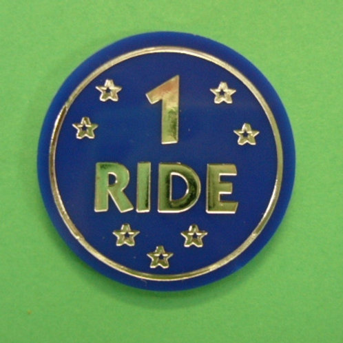 1 Ride Tokens