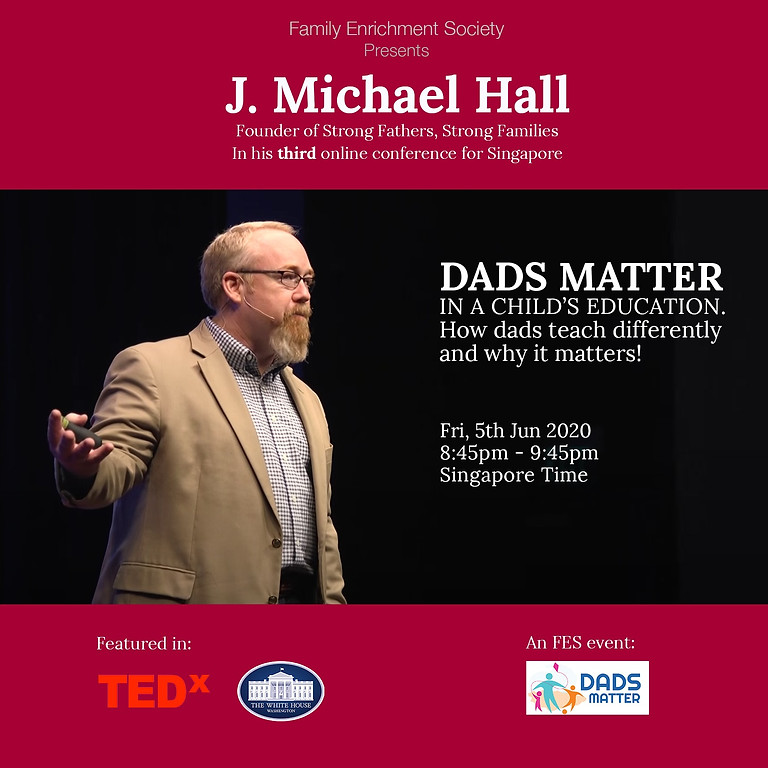 DADS MATTER IN A CHILD'S EDUCATION : How dads teach differently and why it matters!