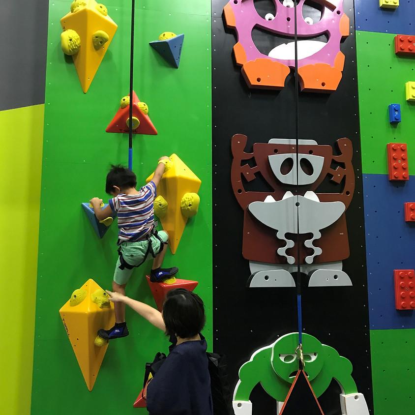 Parent & Child Indoor Climbing Workshop