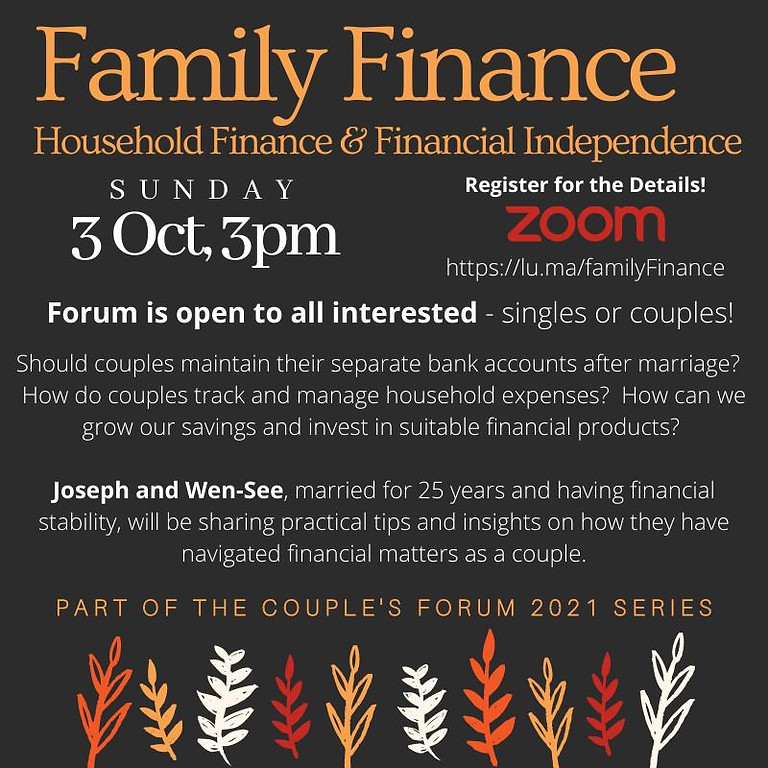 Household Finance & Financial Independence