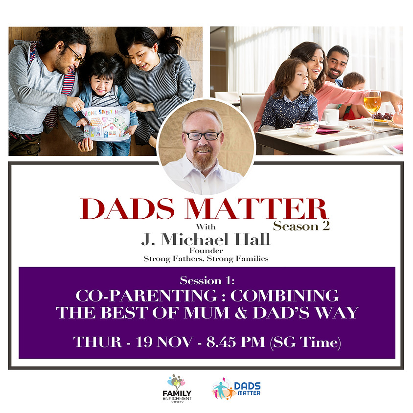 Co-Parenting: Combining the Best of Mum and Dad's Way + Self-care as part of strong parenting!