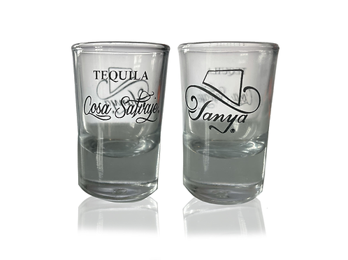Tanya Tucker  + Cosa Salvaje Shot Glasses
