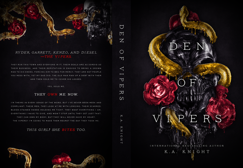 Den of Vipers paperback.png