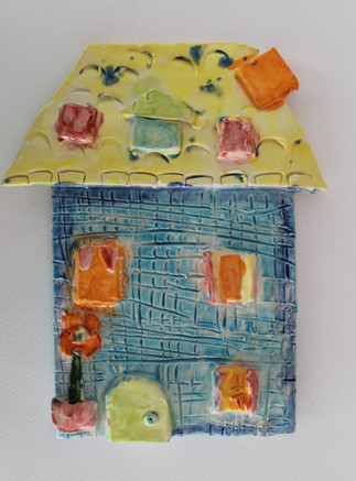 My House Clay relief