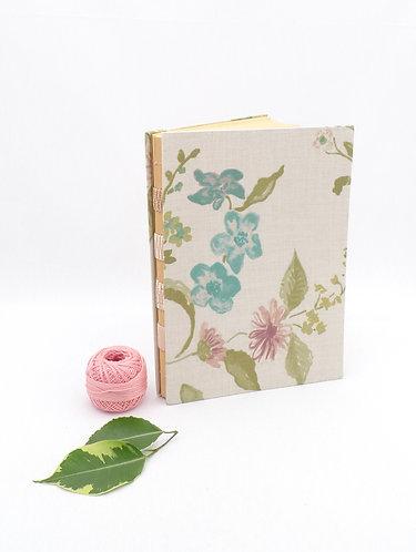 'spring bouquet no1' handmade notebook