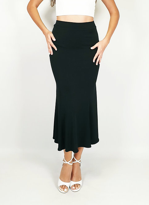Alicia - Black  Tango Skirt