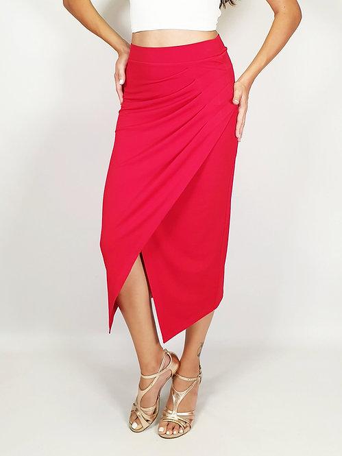 Caroline - Red Tango Skirt