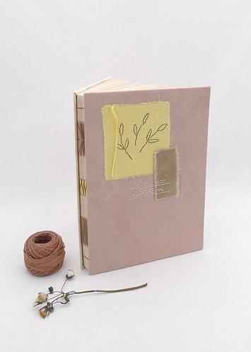 'autumn ın istanbul' handmade notebook