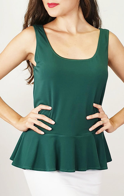 Barbara - Green Tango Top