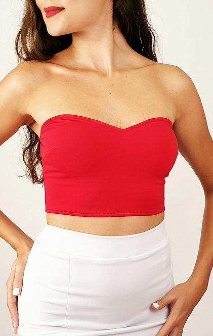 Stella - Red Tango Top