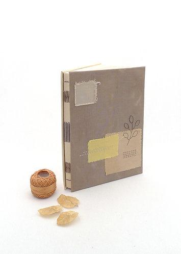 'miracles happen' handmade notebook