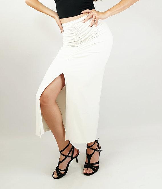 Claire - White Tango Skirt