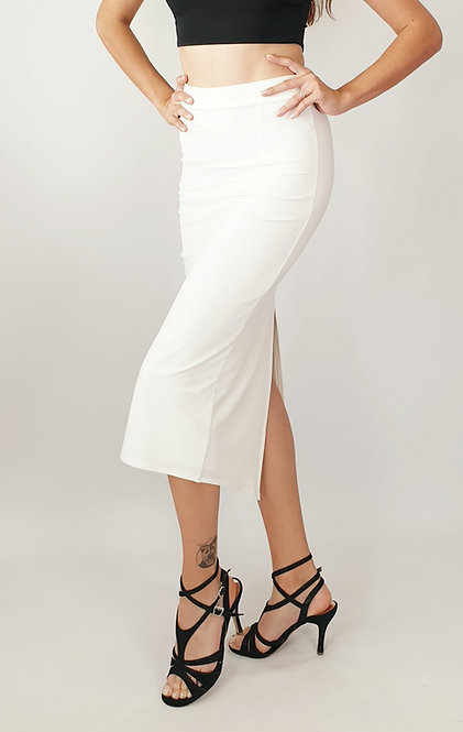 Paula - Cream Tango Skirt