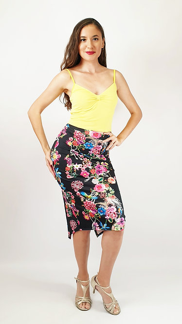 Top: Elena Yellow - Skirt: Beirut Story  - Floral