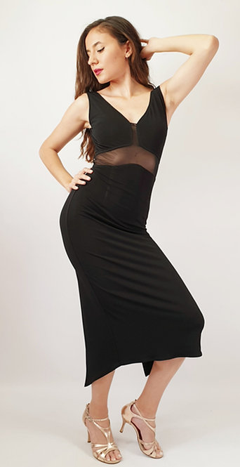 Angelina - Black Tango Dress