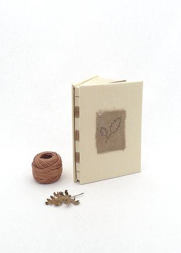 'brunette' handmade notebook