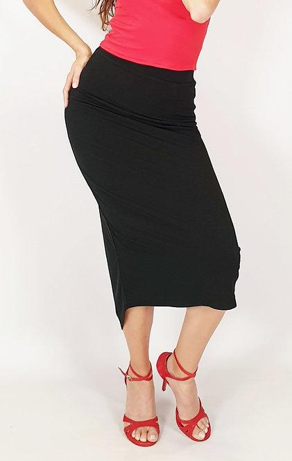 Stephanie - Classic Black Tango Skirt