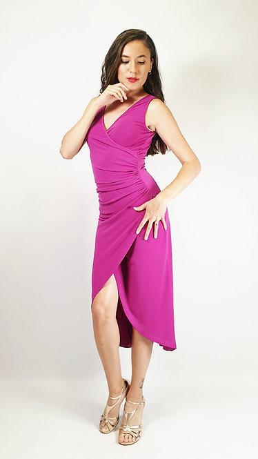 Sabrina - Fuschia Tango Dress
