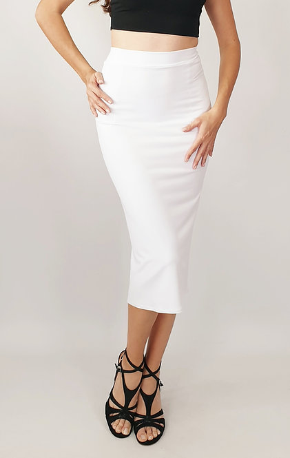 Paula - White Tango Skirt