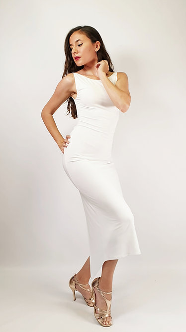 Bianca - White Tango Dress