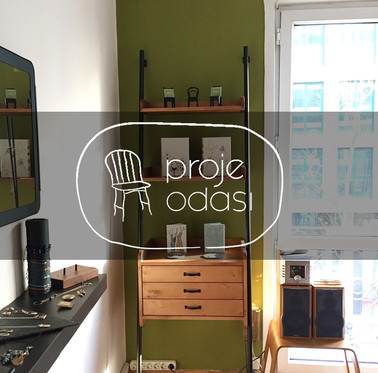 Proje Odası-Project Room, our workspace, showroom and gallery.