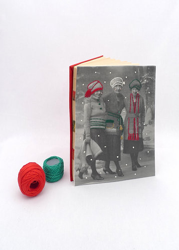 'always forever' handmade notebook
