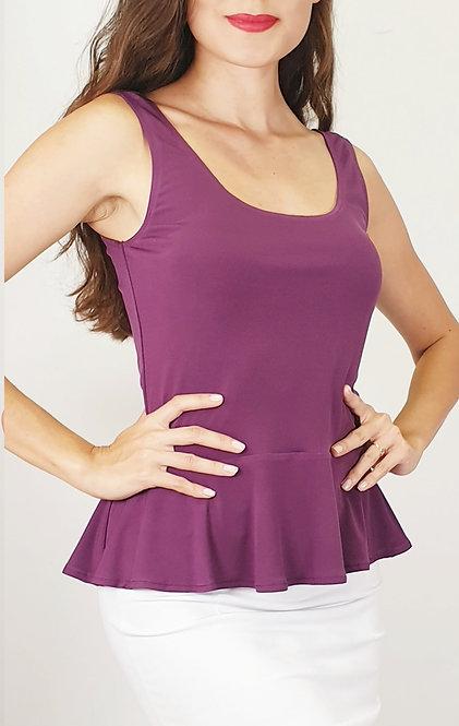 Barbara - Purple Tango Top