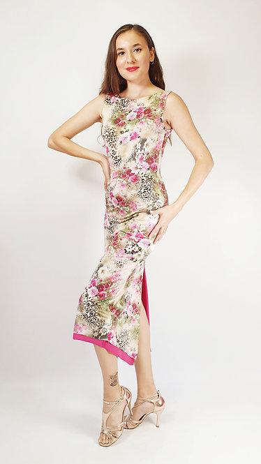 Sweet Leopard - Animalic Pink Tango Dress