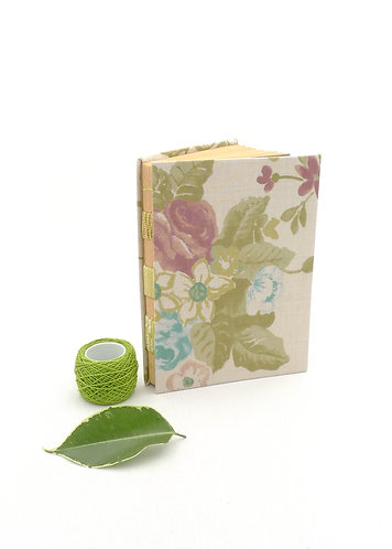 'spring bouquet no2' handmadenotebook