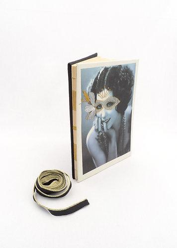 'life awaits' handmade notebook