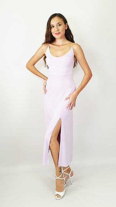 Sonja - Lilac Tango Dress