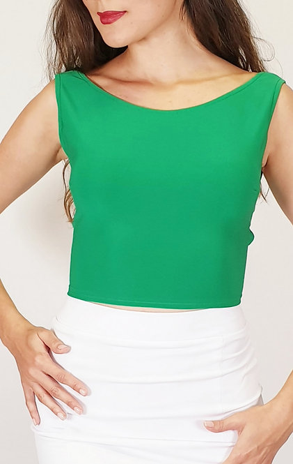Julia - Emerald Green Tango Top
