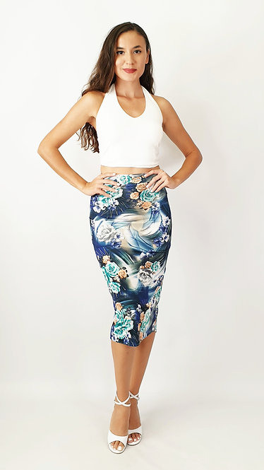 Top: Anna White - Skirt: Glorious São Paulo Floral