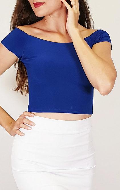 Victoria - Sax Blue Tango Top