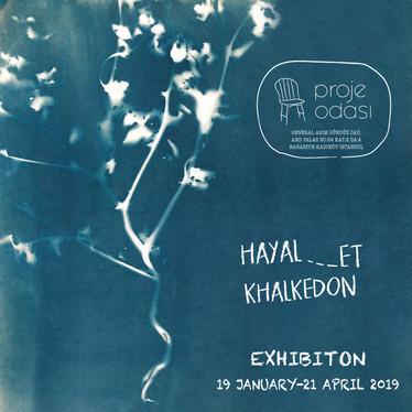 second exhibition in Proje Odası-Project Room: 'Hayal-et Khalkedon'-'Imagine Khalkedon', 2019.