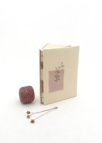 'finding my soul' handmade notebook