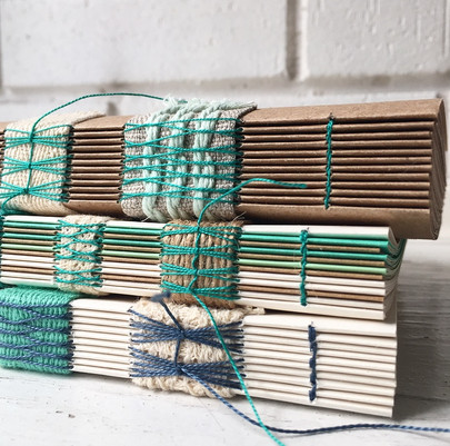 binding and stitching techniques used on the spine.