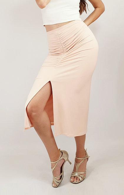 Claire - Light Pink Tango Skirt