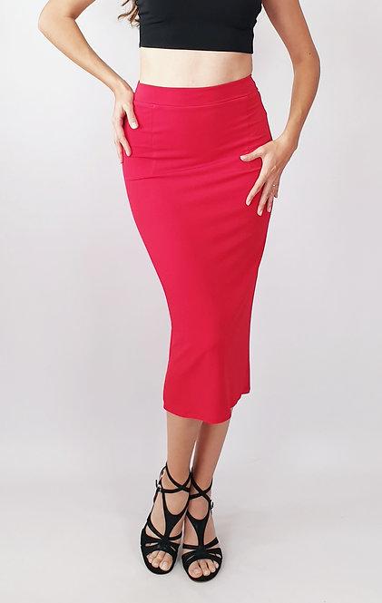 Paula - Red Tango Skirt