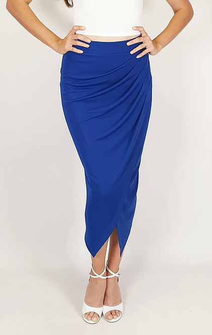 Caroline - Sax Blue Tango Skirt