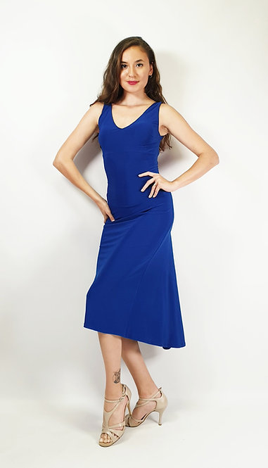 Laura - Sax Blue Tango Dress