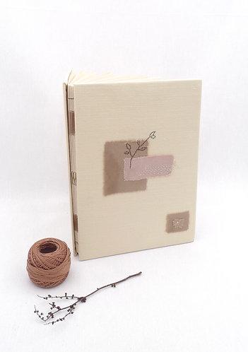 'voice of nature' handmade notebook