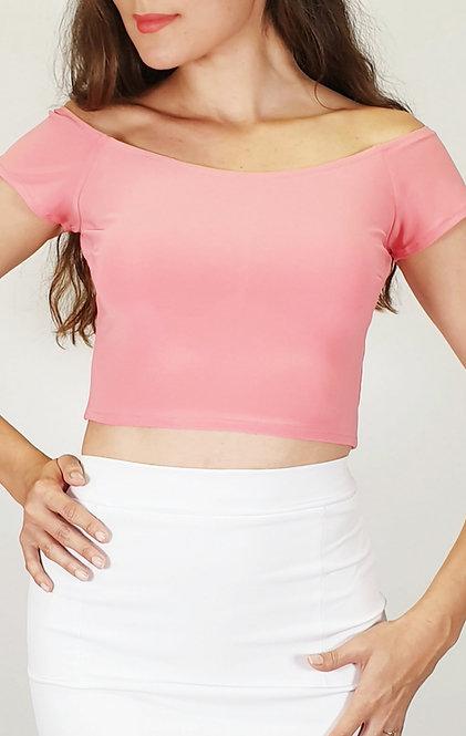 Victoria - Coral Pink Tango Top