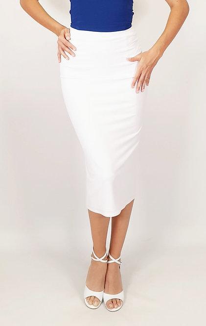 Stephanie - White Tango Skirt